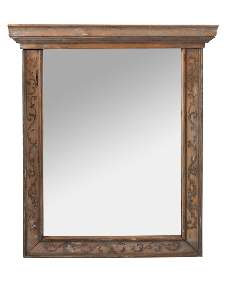 Victorian Pair of 19th Century Window Frame Mirrors For Sale