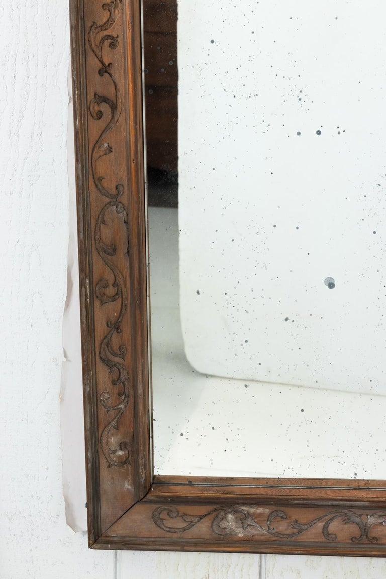 Pair of 19th Century Window Frame Mirrors For Sale 1