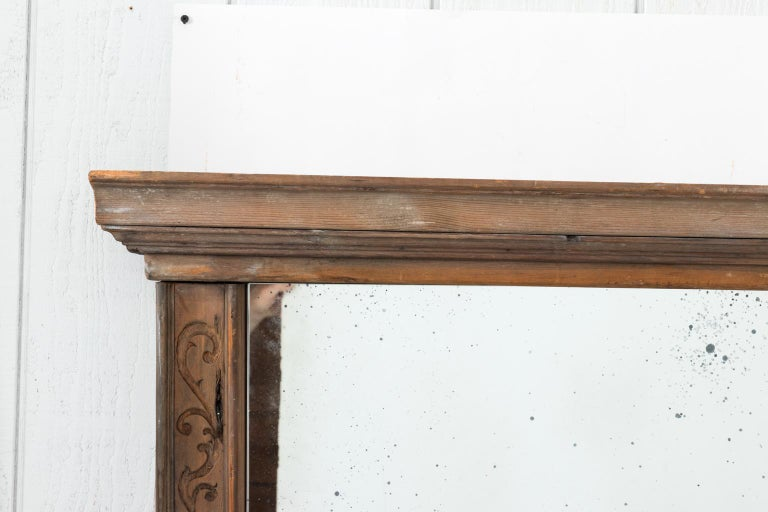 Pair of 19th Century Window Frame Mirrors For Sale 2