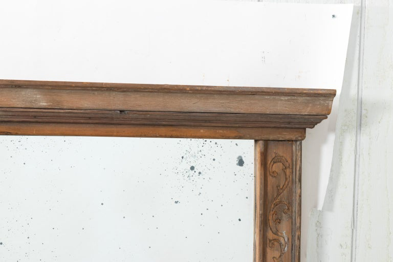 Pair of 19th Century Window Frame Mirrors For Sale 3