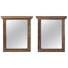 Pair of 19th Century Window Frame Mirrors