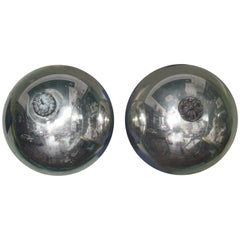 Pair of 19th Century Witches Balls