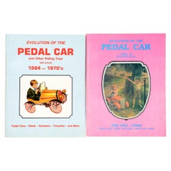 "Pair of 1st Ed Books, ""Evolution of the Pedal Car,"" Vols. I & II, by Neil Wood"