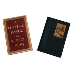 Pair of 1st Edition Poetry Books By Robert Frost