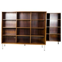 Pair of 2 Rosewood Bookcases, Made in Denmark, 1960s