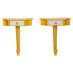 Pair of 20th Century American Console Tables