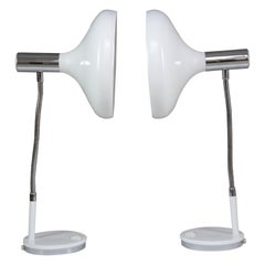 Pair of 20th Century Articulating Table Lamps, 1970s