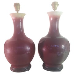 Pair of 20th Century Bottle Vases