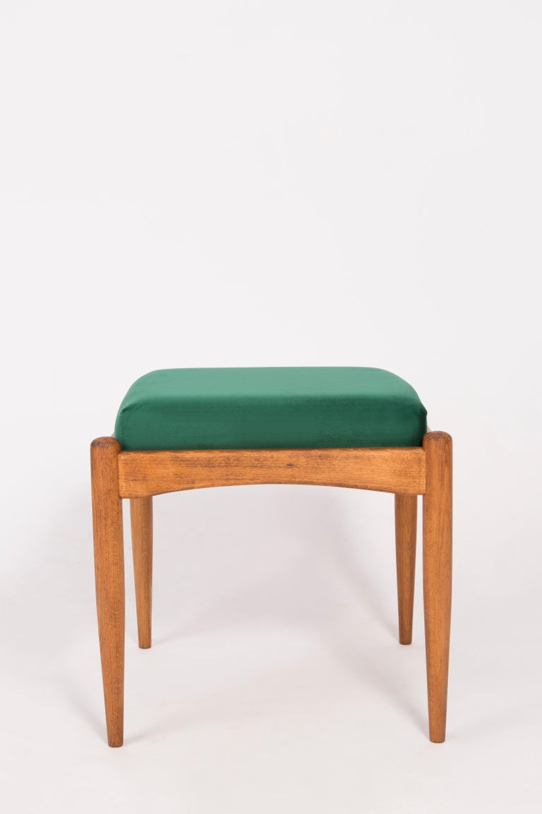Pair of 20th Century Green Stools, 1960s For Sale 1