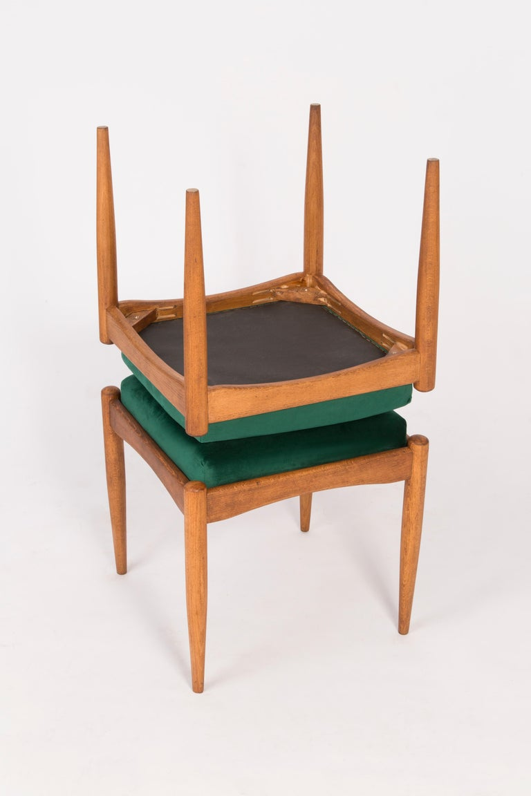 Pair of 20th Century Green Stools, 1960s For Sale 2