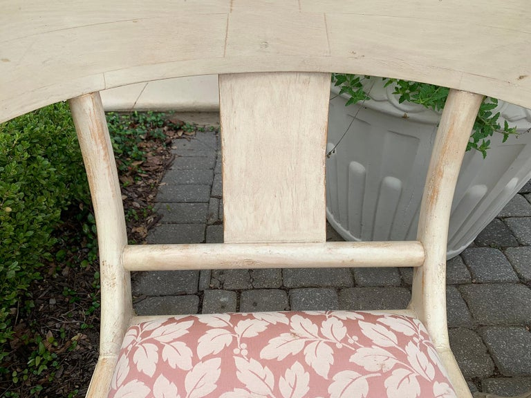 Pair of 20th Century Klismos Side Chairs, in the Style of T.H. Robsjohn-Gibbings For Sale 8