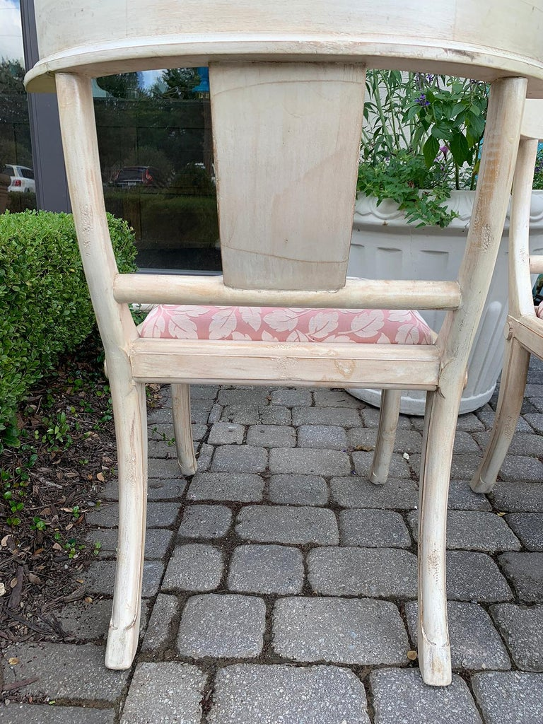 Pair of 20th Century Klismos Side Chairs, in the Style of T.H. Robsjohn-Gibbings For Sale 11
