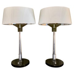 Pair of 20th Century Midcentury Desk Table Lamps