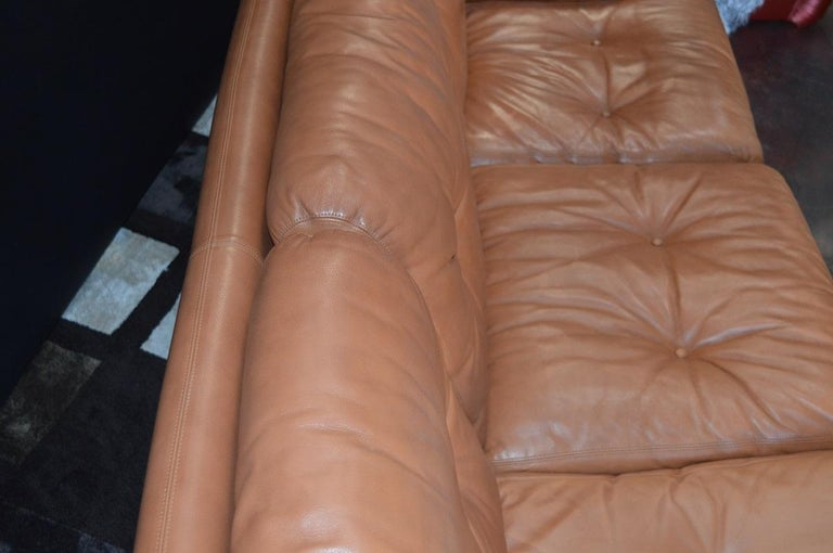 Pair of 20th Century Tobia Scarpa Coronado Sofa by B&B Italia For Sale 2