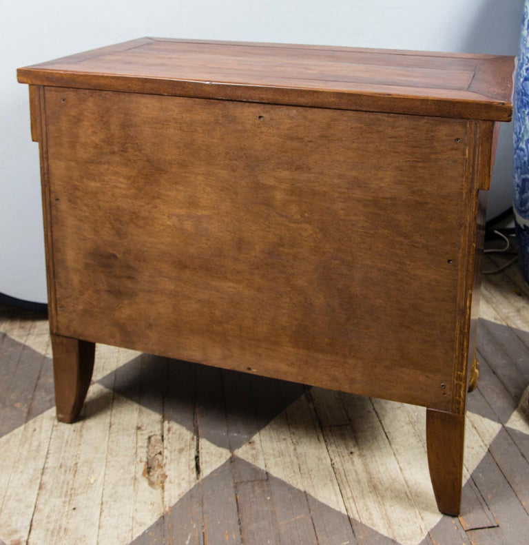 Pair of 20th Century Walnut Commodes For Sale 6