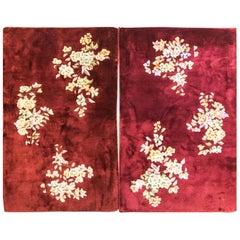 Pair Of Antique Art Deco Rugs