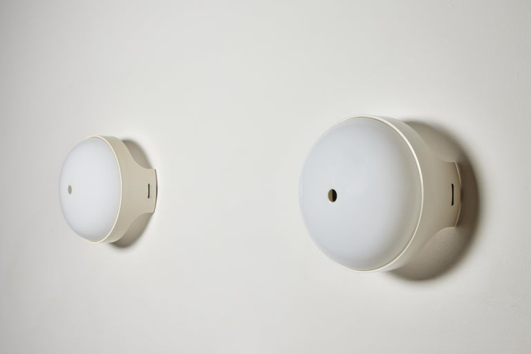Pair of 4332 Wall/Ceiling Lights by Gian Emilio, Piero & Anna Monti for Kartell For Sale 4