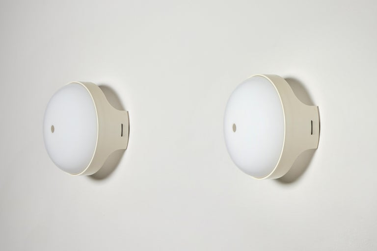 Pair of 4332 Wall/Ceiling Lights by Gian Emilio, Piero & Anna Monti for Kartell For Sale 5
