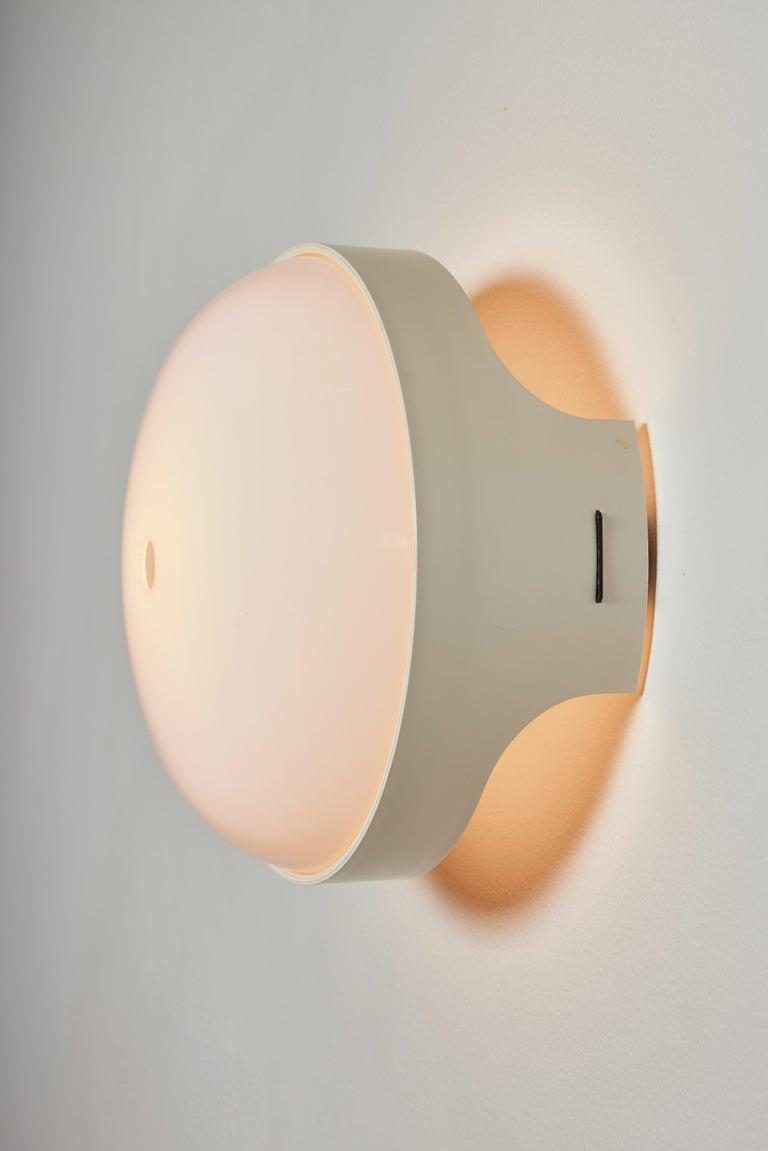 Pair of 4332 Wall/Ceiling Lights by Gian Emilio, Piero & Anna Monti for Kartell For Sale 1