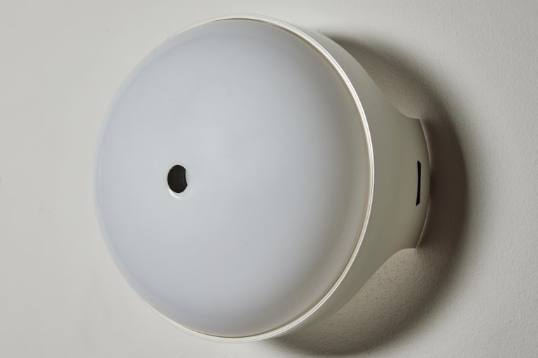 Pair of 4332 Wall/Ceiling Lights by Gian Emilio, Piero & Anna Monti for Kartell For Sale 2