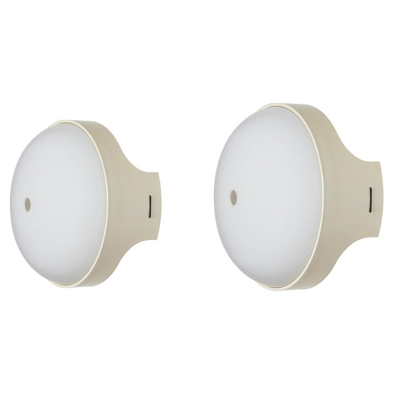 Pair of 4332 Wall/Ceiling Lights by Gian Emilio, Piero & Anna Monti for Kartell For Sale