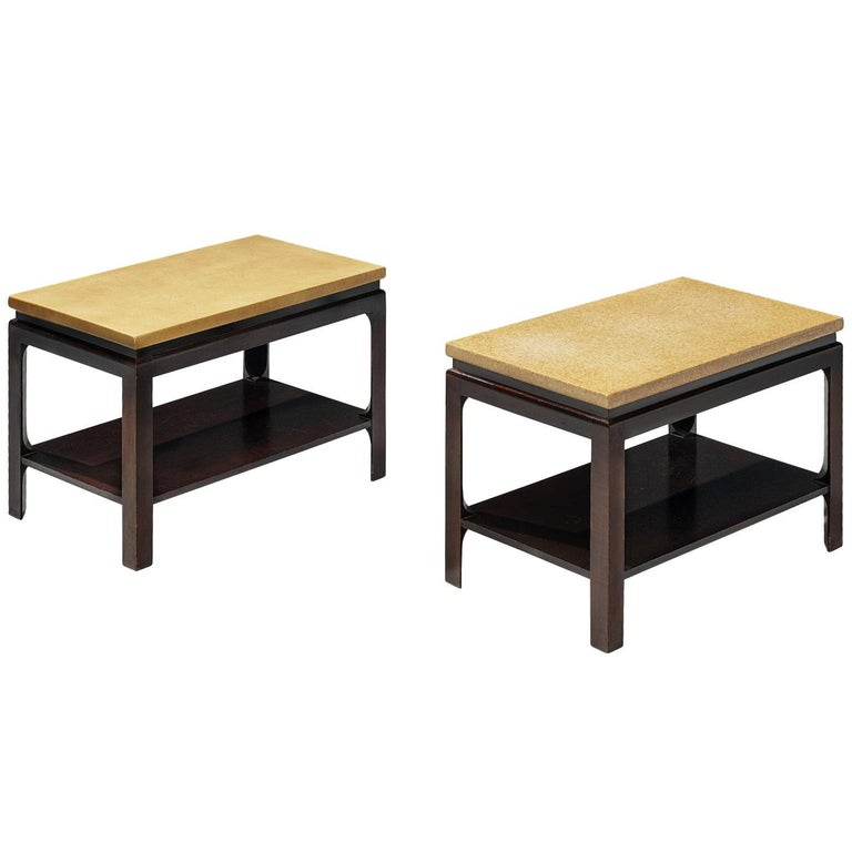 Pair of 5015 Side Tables by Paul Frankl, circa 1951 For Sale