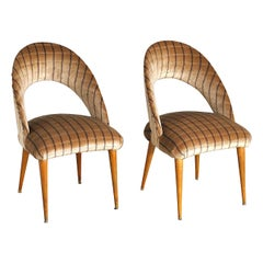 Pair of 60s Italian School Chairs