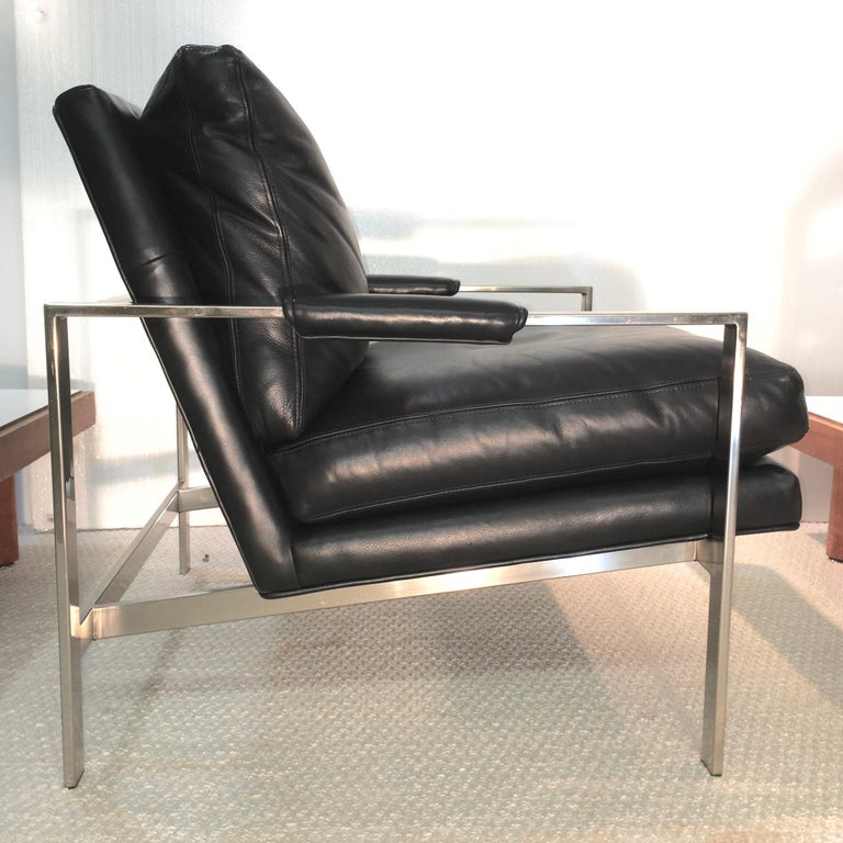 Pair of 951 Lounge Chairs by Milo Baughman for Thayer Coggin For Sale 4