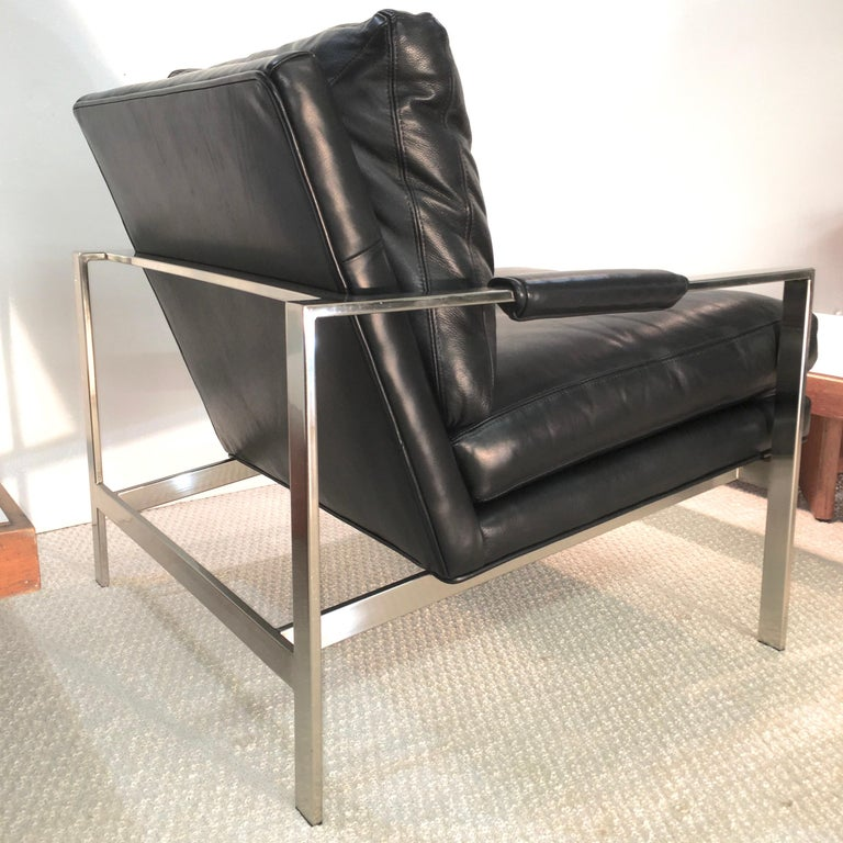 Pair of 951 Lounge Chairs by Milo Baughman for Thayer Coggin For Sale 5