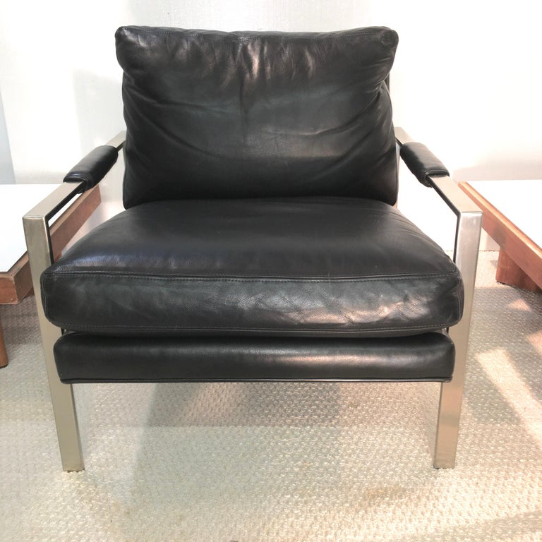 Contemporary Pair of 951 Lounge Chairs by Milo Baughman for Thayer Coggin For Sale