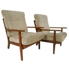 Pair of Aage Pedersen Lounge Chairs for GETAMA