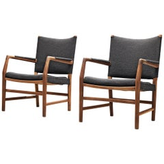 Pair of Aarhus City Hall Chairs by Hans J. Wegner