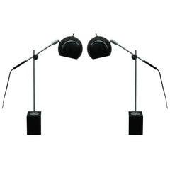 Pair of Adjustable Table Lights by Robert Sonnemana