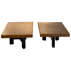 Pair of Ado Chale Peppercorn Tables
