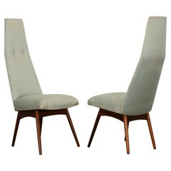 Pair of Adrian Pearsall Dining Chairs, 1960s