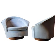 Pair of Adrian Pearsall for Craft Associates Lounge Chairs