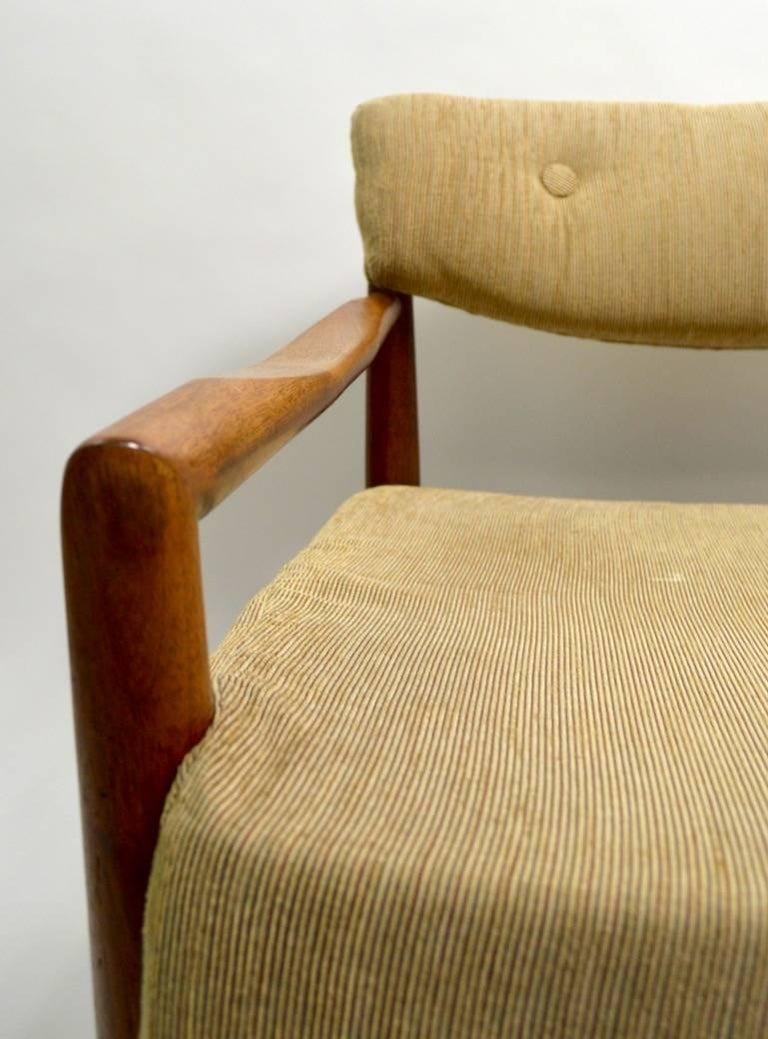 American Pair of Adrian Pearsall Lounge Chairs For Sale