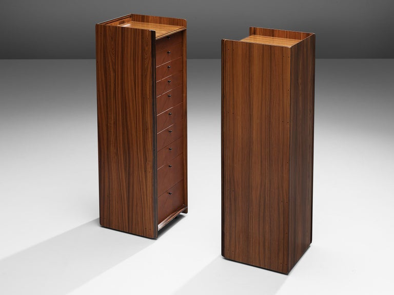 Pair of Afra & Tobia Scarpa 'Artona' Cabinets In Good Condition For Sale In Waalwijk, NL