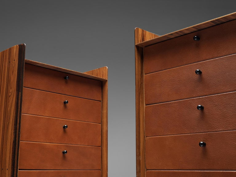 Late 20th Century Pair of Afra & Tobia Scarpa 'Artona' Cabinets For Sale