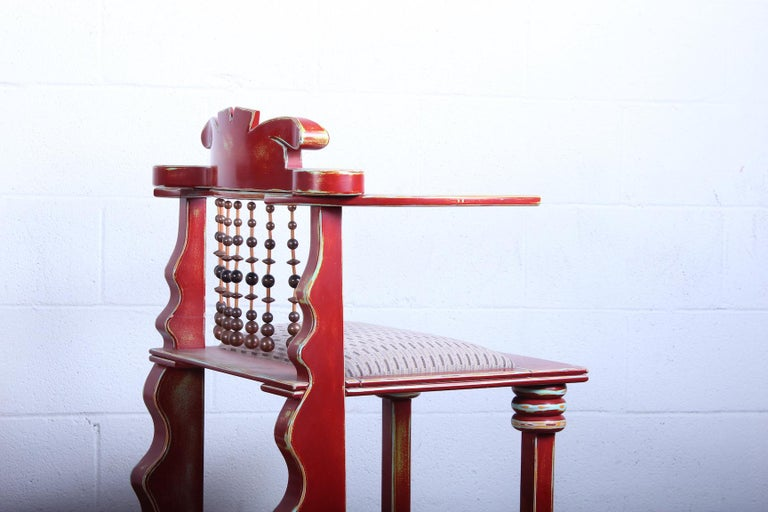 Pair of African Chairs by Garry Knox Bennett, 1989 For Sale 5