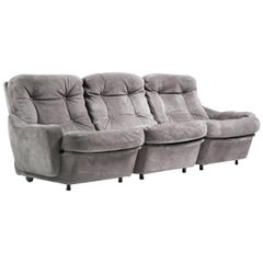 Pair of Airborne International Modular Sofas