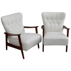 Pair of Aksel Bender Madsen Armchairs