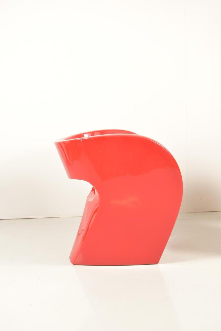 20th Century Pair of  Albert Red Armchairs by Ron Arad in 2000 for Moroso For Sale