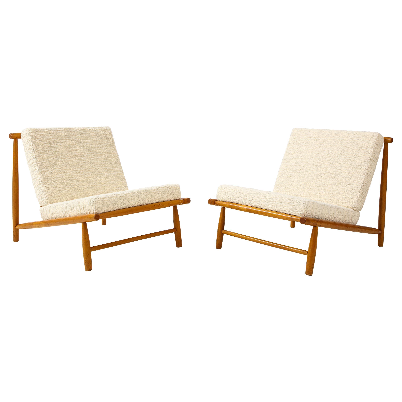 Pair of Alf Svensson 'Domus' Lounge Chairs, Sweden, c. 1960