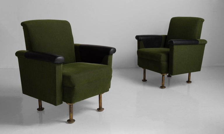 20th Century Pair of Alvar Aalto Armchairs For Sale