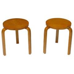 Pair of Alvar Aalto Stools