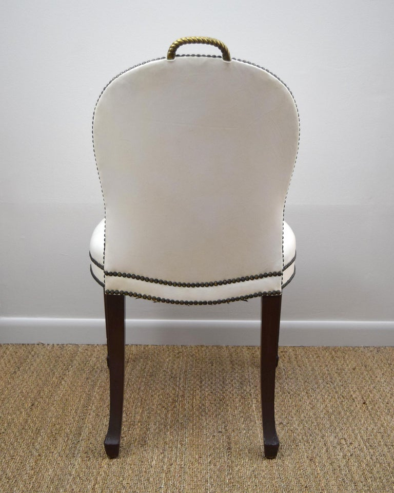 Pair of  American 1930s 'Cafe Society' Chairs For Sale 2