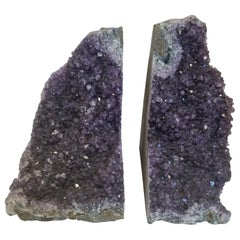 Pair of Amethyst Bookends