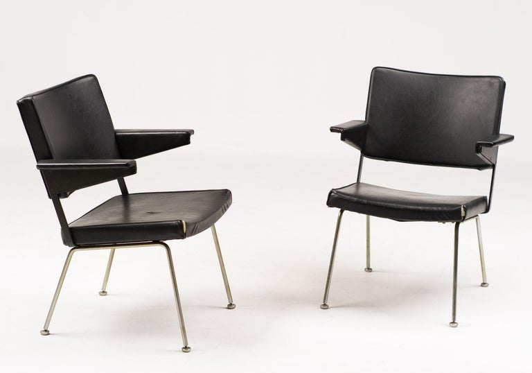Pair of Andre Cordemeijer Armchairs For Sale 1