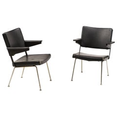 Pair of Andre Cordemeijer Armchairs